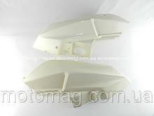 Пластик верхних задних боковин QT-25, (под покраску), пара