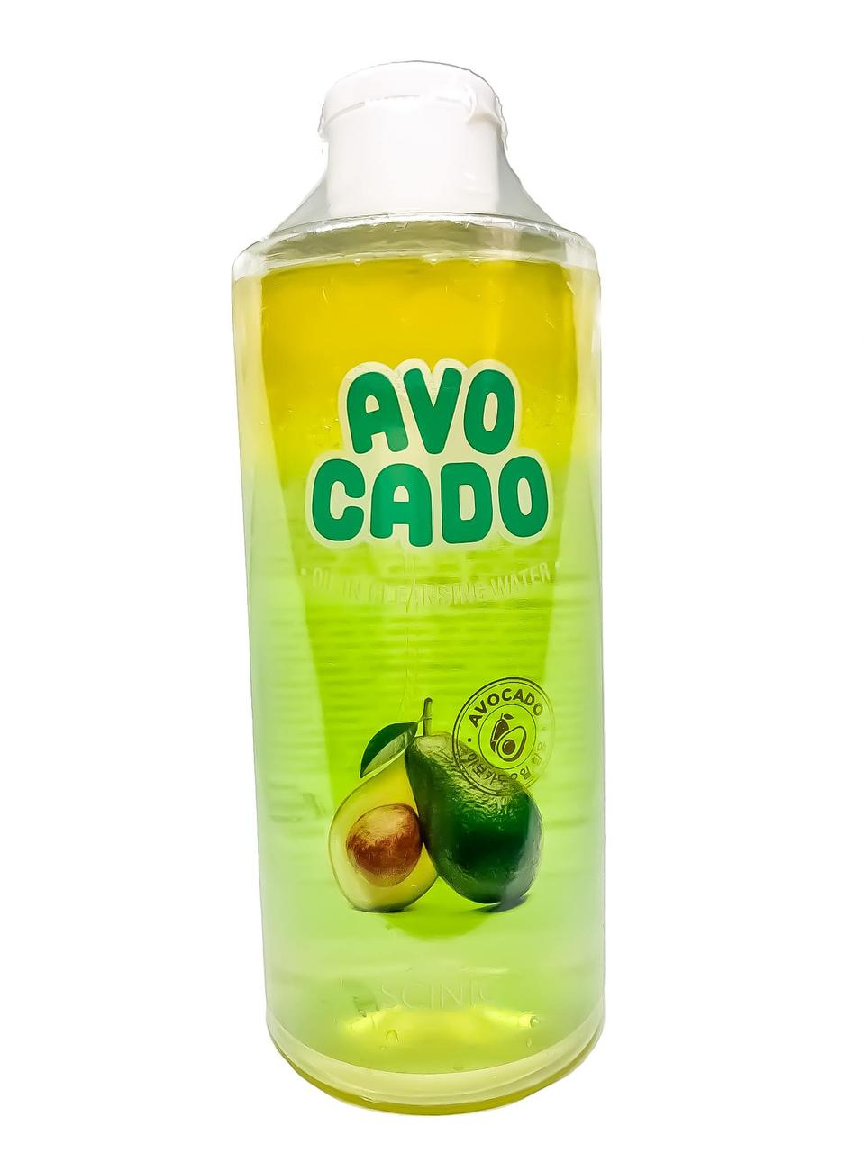 Гідрофільне масло з авокадо на водній основі SCINIC Avocado Сleansing water oil