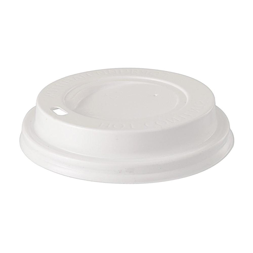 Крышка к бумажному стакану 250 мл (50 шт)