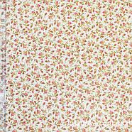 55022 Розовый бутон. Ткани с цветочками для шитья и рукоделия., фото 2