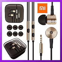 Наушники Xiaomi Piston 3 металлические с микрофоном