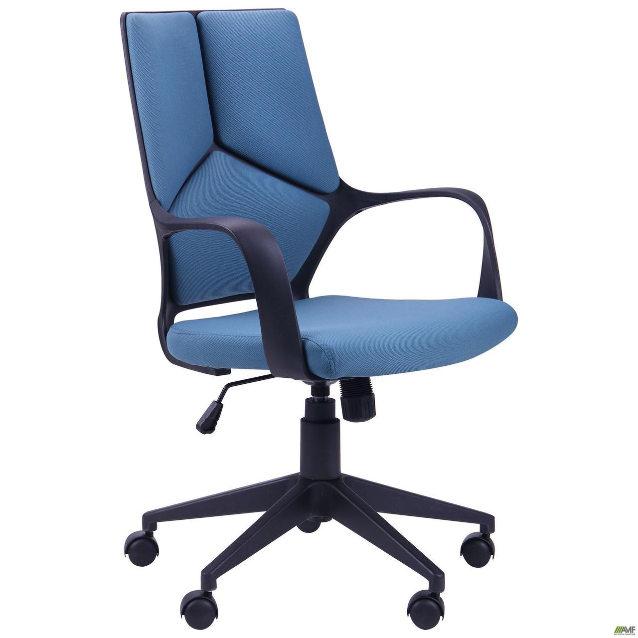 Кресло офисное AMF Urban LB White синее