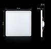 Світильник СL-S18W-5 18Вт квадратний 5000К