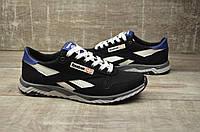 Чоловічі кросівки Reebok, чорні, весна-літо (сітка)
