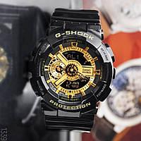 Часы спортивные наручные мужские Casio G-Shock Black-Gold