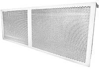 Экран Аккорд на чугунную батарею 770 х 355 мм металлический декоративный/ декоративная решетка Аккорд на чугунный радиатор металлическая