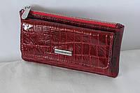Ключница кожаная красная Karya 104-08