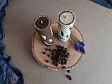 Набір свічок з кольорової вощини Кава з молоком, фото 2