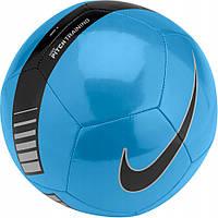 Мяч футбольный спортивный Nike Pitch Training SC3101-413 Size 5 полиуретановый для улицы и спортзала