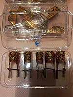 Формы многоразовые для наращивания ногтей 5шт в уп, фото 1
