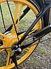 Электровелосипед с передней корзиной на литых дисках антипрокольные шины безкамерки с Европы, фото 6