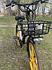Электровелосипед с передней корзиной на литых дисках антипрокольные шины безкамерки с Европы, фото 4