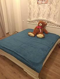 Плед-одеяло двуспальное 200*230 Синий
