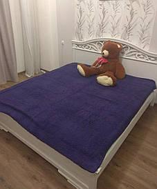 Плед-одеяло двуспальное 200*230 Фиолетовый