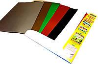 Картон цветной А3 (9 цветов) для детского творчества