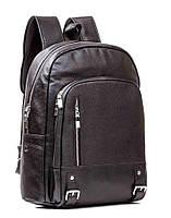 Рюкзак кожаный Tiding Bag Стильный и практичный рюкзак из натуральной кожи. Высокое качество обделки кожи.