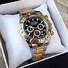 Мужские металлические часы Rolex Daytona, Ролекс, золотий чоловічий годинник, фото 2