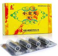 """Пилюли """"Сяоджин Ван"""" (Xiaojin Wan) - рассасывание уплотнений и тромбов- 0,6гх4шт"""
