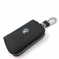Ключница с логотипом авто Skoda, брелок Шкода
