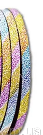 Скотч-лента сахарная для дизайна ногтей 3 мм(разноцветная)