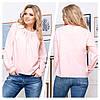 Женская блуза свободного кроя 50, 52, 54, 56, фото 4