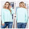 Женская блуза свободного кроя 50, 52, 54, 56, фото 5