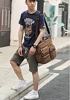 Мужская кожаная сумка. Модель 61252, фото 9