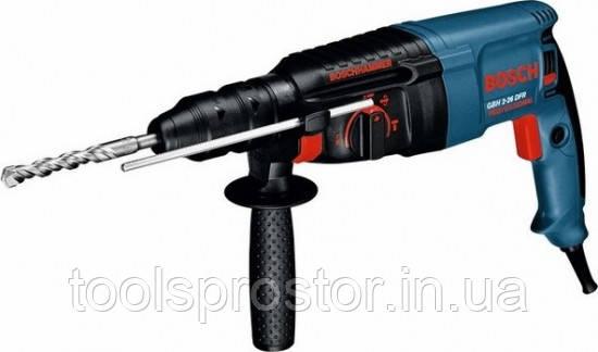 Перфоратор Bosch GBH 2-26 DFR (0611254768) : 800 Вт | SDS-plus + Кейс Оригинал