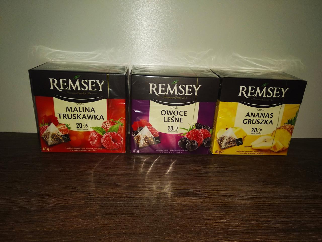 Чай Remsey в пірамідках 20 шт.