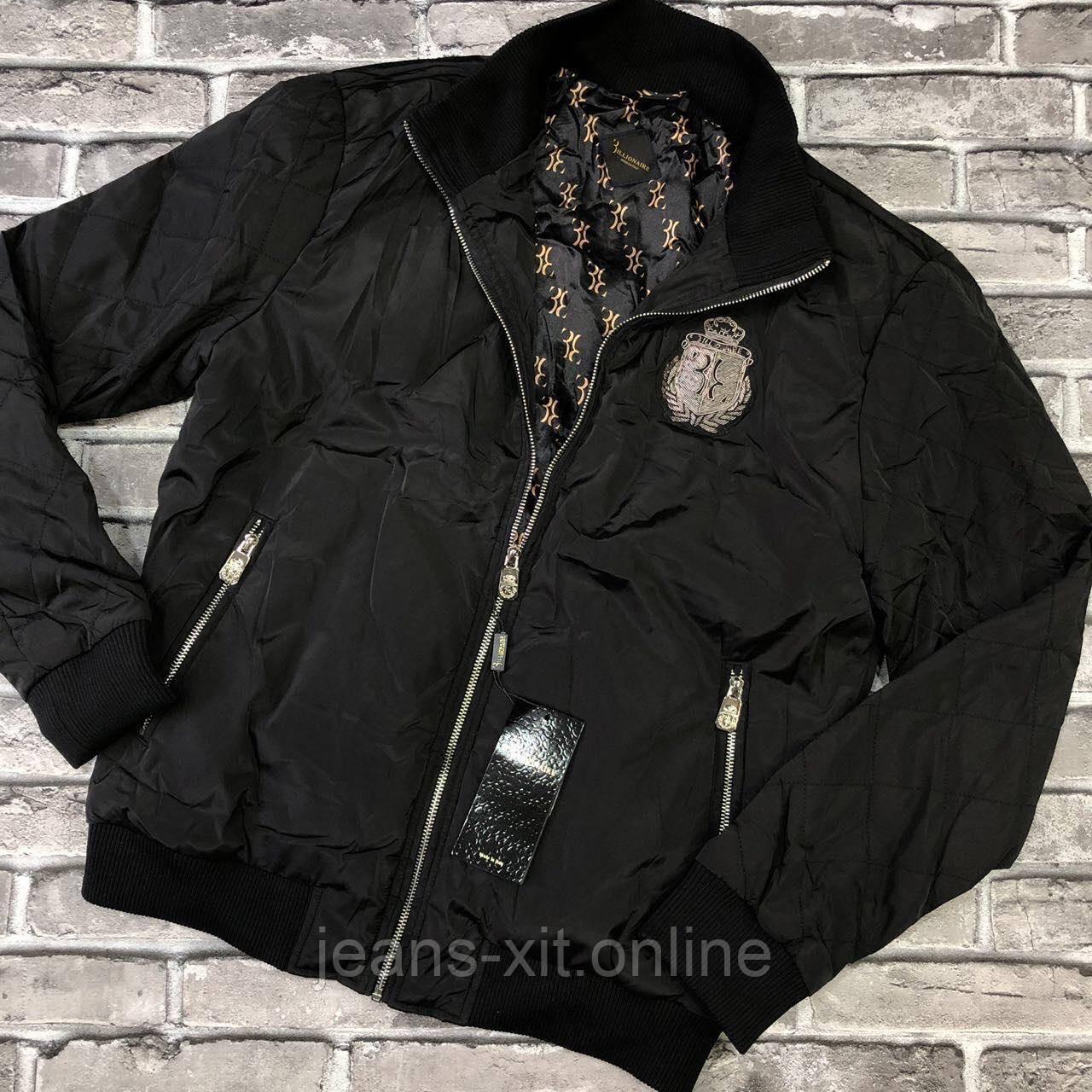 Куртка Чол. 52(р) чорний 2020966-1 Billionaire Туреччина Осінь-B