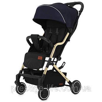 Прогулочная коляска CARRELLO Smart CRL-5504 Ink Blue с дождевиком, синяя