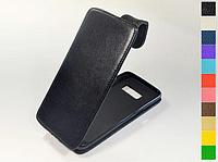 Откидной чехол из натуральной кожи для Samsung Galaxy S8 Duos G950F / S8 Lite / S Lite / S Light Luxury