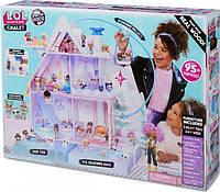 Оригінал! Ігровий меганабор з ляльками L. O. L. Surprise! Winter Disco Зимовий Особняк з безкоштовною доставкою