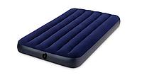 Надувная кровать Intex 137 х 25 х 191 см Синий