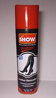 Аэрозоль краска SHOW для гладкой кожи черный 250 мл