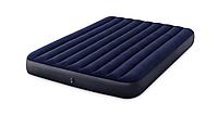 Надувная кровать Intex 152 х 203 х 25 см Синий