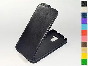 Откидной чехол из натуральной кожи для Xiaomi Pocophone F1
