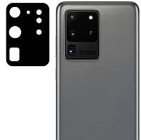 Защитное стекло на камеру для Samsung Galaxy S20 Ultra 2020 G988 (Гибкое 0.18мм)