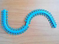 Сепараторы эластичные, на S-образном модуле+Лигатуры эластичные , фото 1