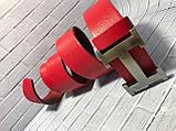 Ремінь 1(р) червоний 12650 GL Туреччина A, фото 3