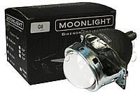 "Биксеноновые линзы Moonlight G6/Q5 3,0"" (⌀76мм) Universal без ламп, фото 1"