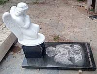 Памятник детский с ангелом 42, фото 1