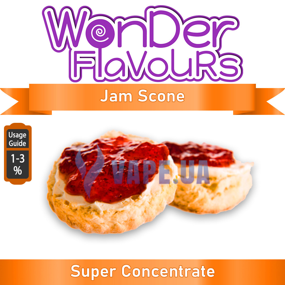 Wonder Flavours (SC) - Jam Scone (Джем сконе)