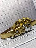 Ремень женский 1(р) золото 1315-19 Украина B, фото 2