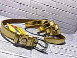 Ремень женский 1(р) золото 1315-19 Украина B, фото 3