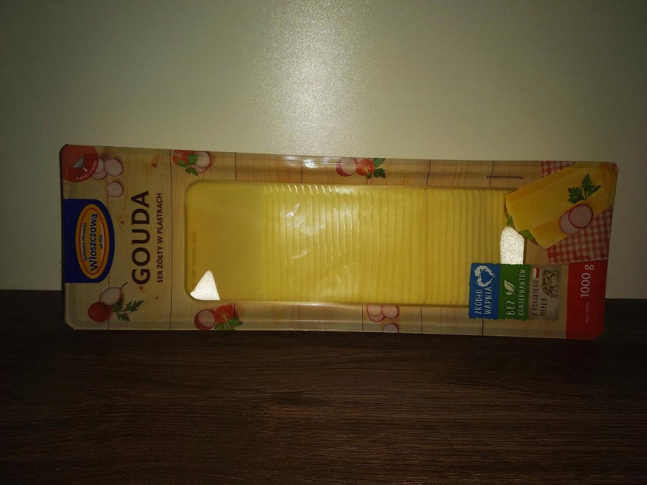 Swiatowid Gouda сир нарізний 1кг.