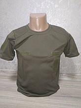Военная футболка с липучкой (Coolmax) - размер S (44)