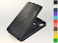 Откидной чехол из натуральной кожи для Xiaomi Mi A2 Lite