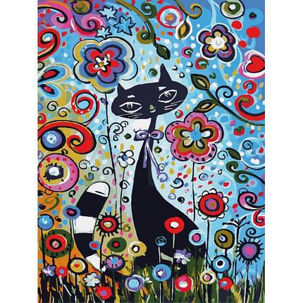 """Набор """"Идейка"""" для росписи по номерам Животные, птицы """"Магические краски 2"""" 30х40см КНО2442, фото 2"""