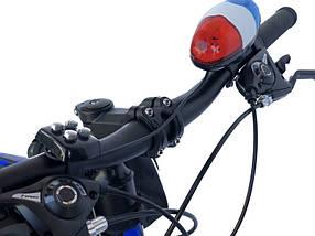 Электросигнал на кермо велосипеда